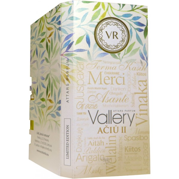 Vallery THANK YOU attars parfum