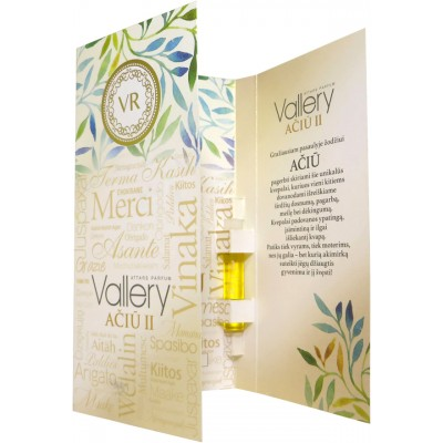 Vallery THANK YOU attars parfum