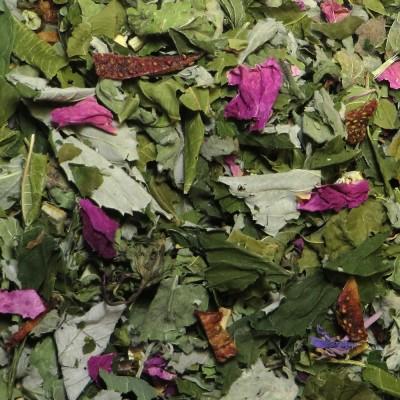 Strawberry Quadrille herbal tea