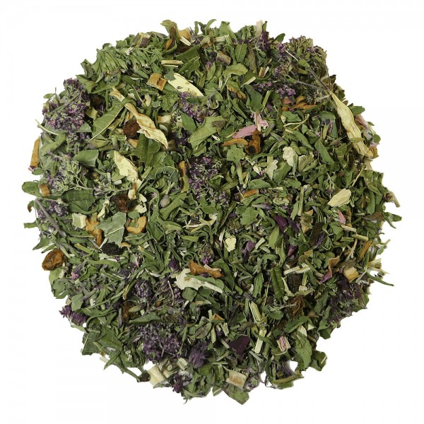 Herbal tea Flaming Shrub