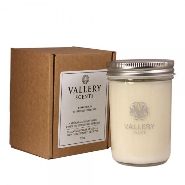 Šventė didelė kvapi žvakė su dėžute Vallery Scents