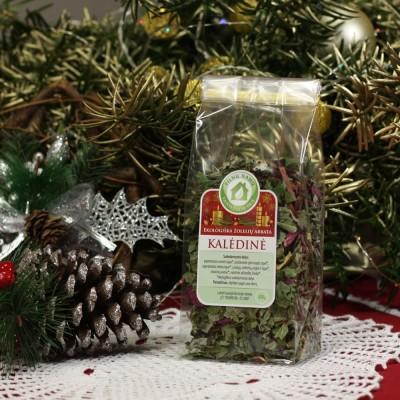 CHRISTMAS herbal tea in transparent bag