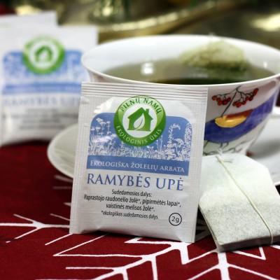 arbata Ramybės upė pakelyje