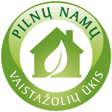 Pilnu namu herbal farm logo